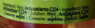 Aceto di vino - Ingredients - it