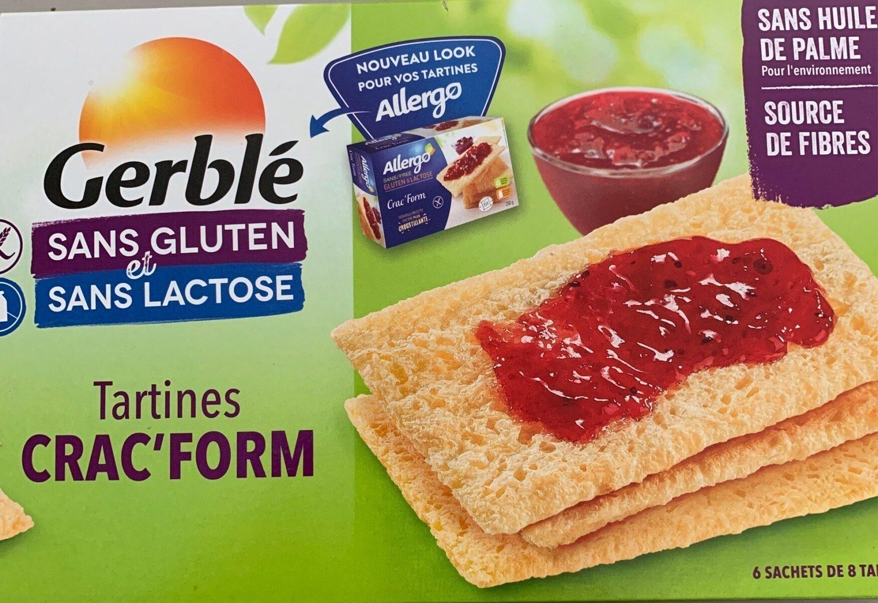 Tartines crac form - Produit - fr
