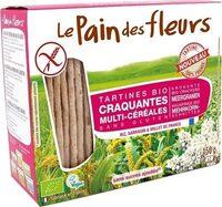 Tartines Craquantes Multi-Céréales Sans Gluten - Product - fr