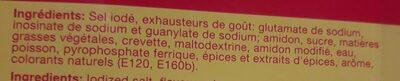 Maggi crevette - Ingrédients