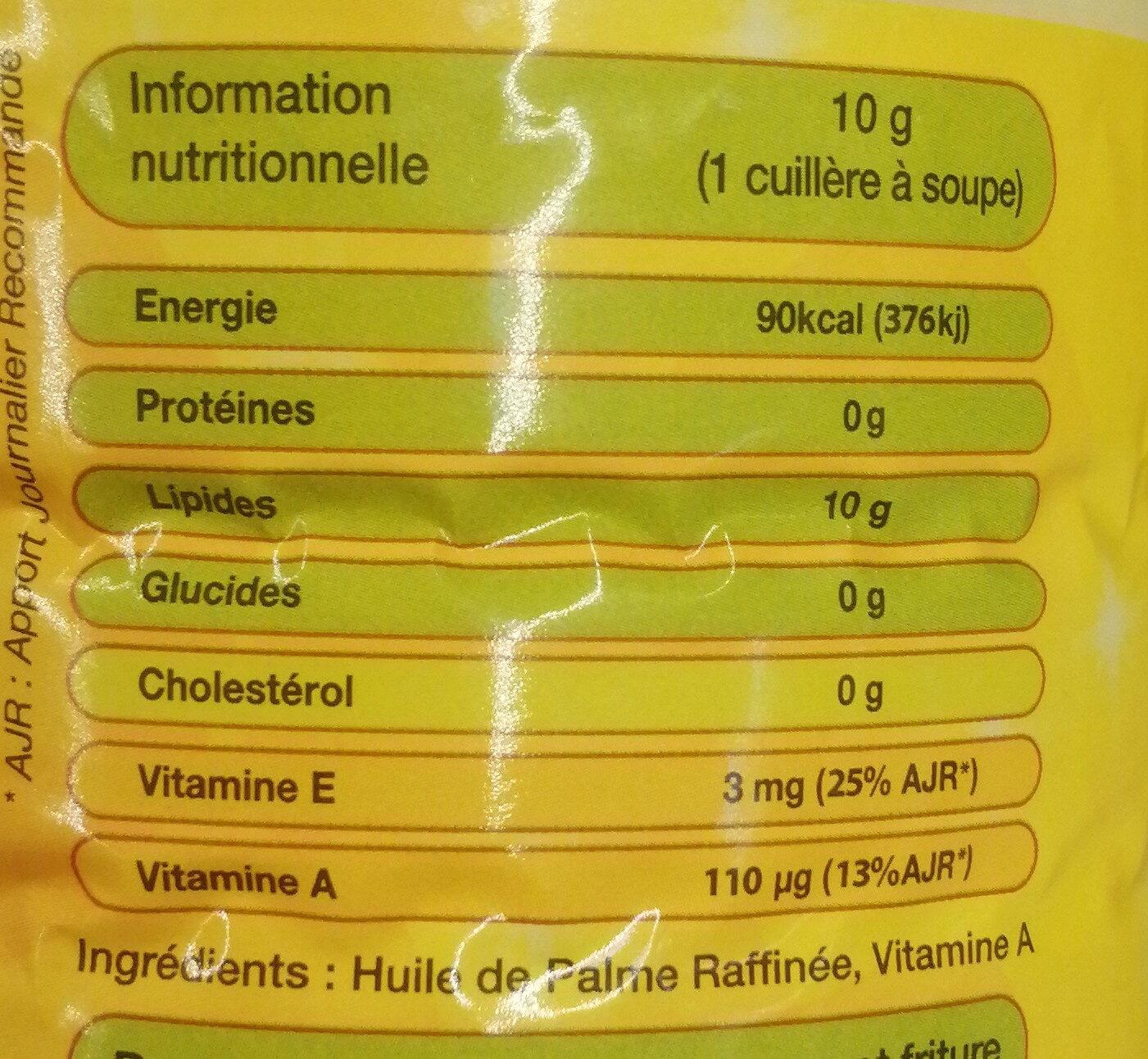 dinor - Informations nutritionnelles - fr