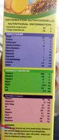 Farinor Nutribon - Informations nutritionnelles