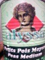 alyssa petits pois - Produit - fr
