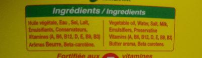 AYA MARGARINE - Ingredients