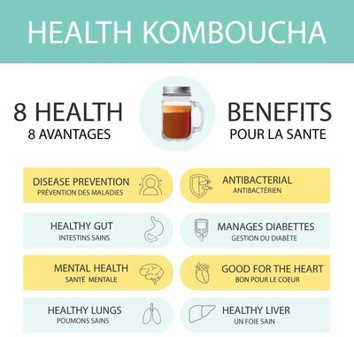 HEALTH KOMBUCHA brut - Product