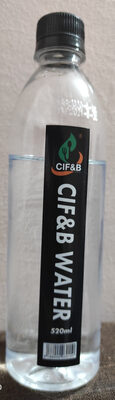 CIF&B WATER - Product - fr