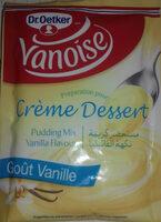 Preparation pour crème dessert goût vanille - Produit