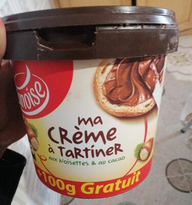 ma crème à tartiner aux noisettes et au cacao - Product - fr