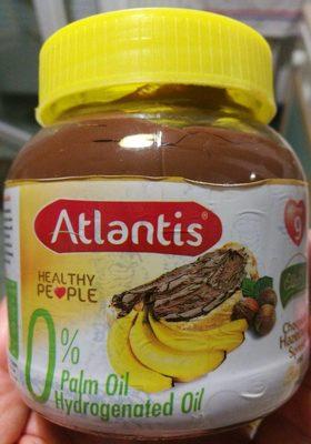 Crème à tartiner aux noisettes et au fruit banane - Produit - fr