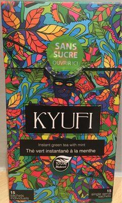 Thé vert instantané à la menthe Kyufi - Product