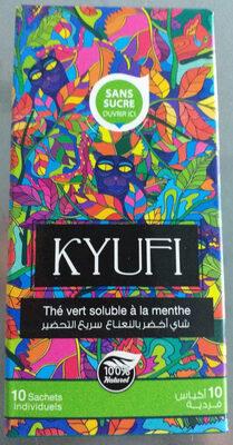 KYUFI thé vert soluble à la menthe - نتاج - fr