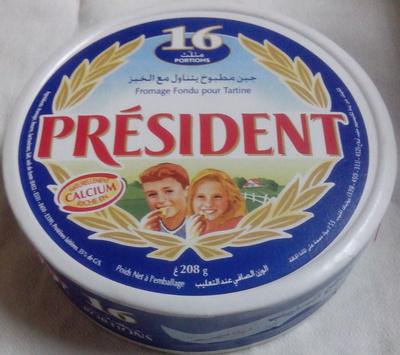 Fromage Fondu Pour Tartine Président - Produit - fr