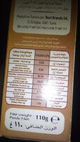 préparation pour glace arôme cappuccino - Nutrition facts - fr