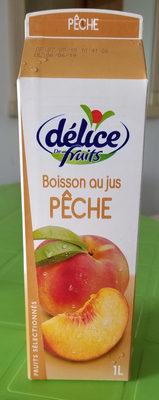 Boisson au jus PÊCHE - Produit - fr