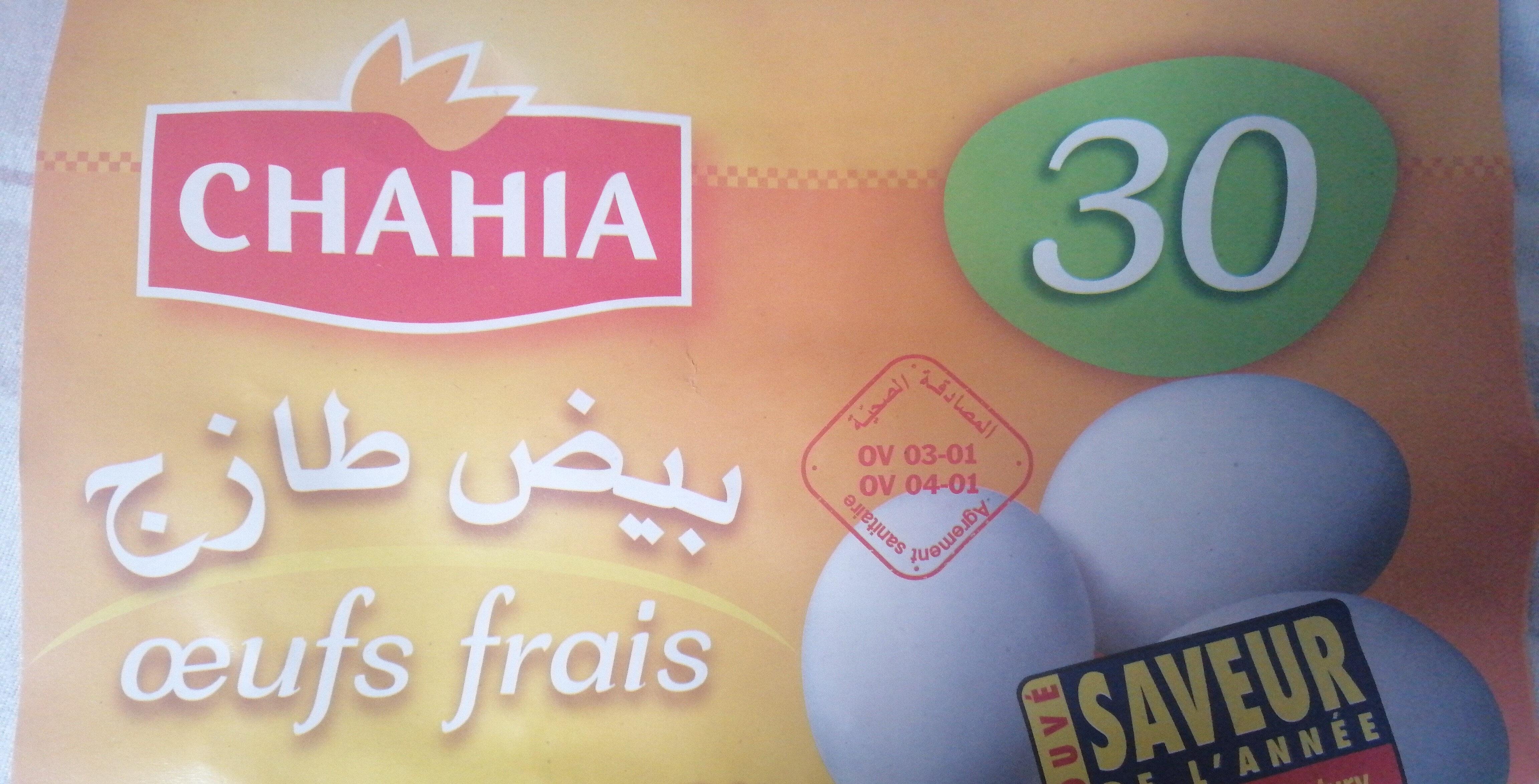 œufs frais - Product - fr