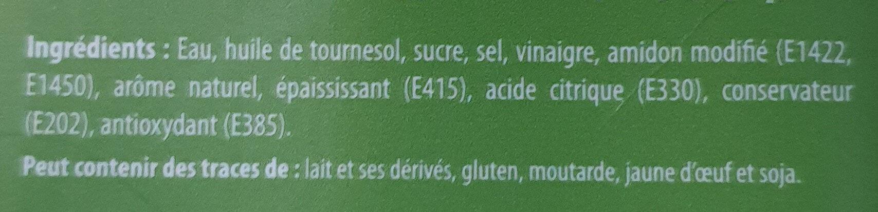 Sauce à l'ail - Ingrédients - fr