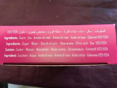 Loukoum Hazem - Ingredients