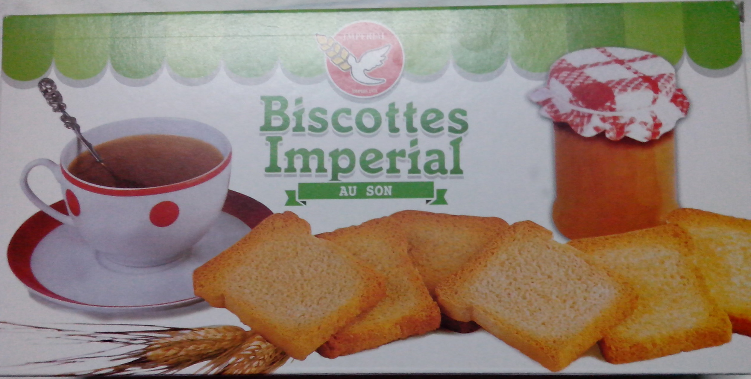 Biscottes Imperial au son - Product