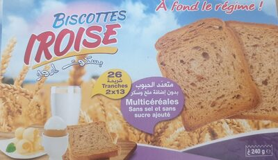 Biscottes - Product - fr