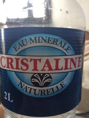 eau minerale naturelle - Product