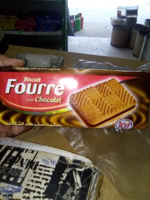 Biscuit fourré goût chocolat - المكونات - ar