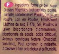Fourré - Kif - Ingrédients - fr