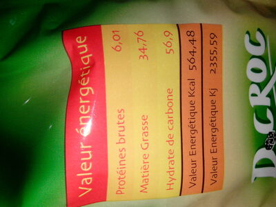 Datte - Informations nutritionnelles - fr
