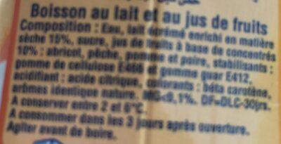 Danao - Ingredients - fr