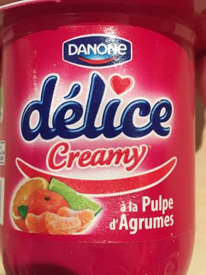 Délice Danone creamy - Product - fr