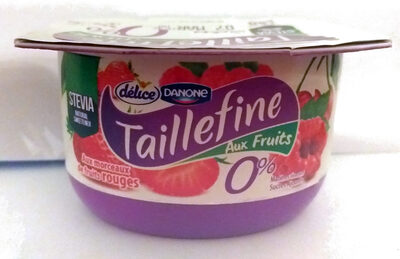 Taillefine aux fruits 0% Fruits rouges - Product - fr