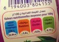 Taillefine aux fruits 0% Fruits rouges - Nutrition facts - fr