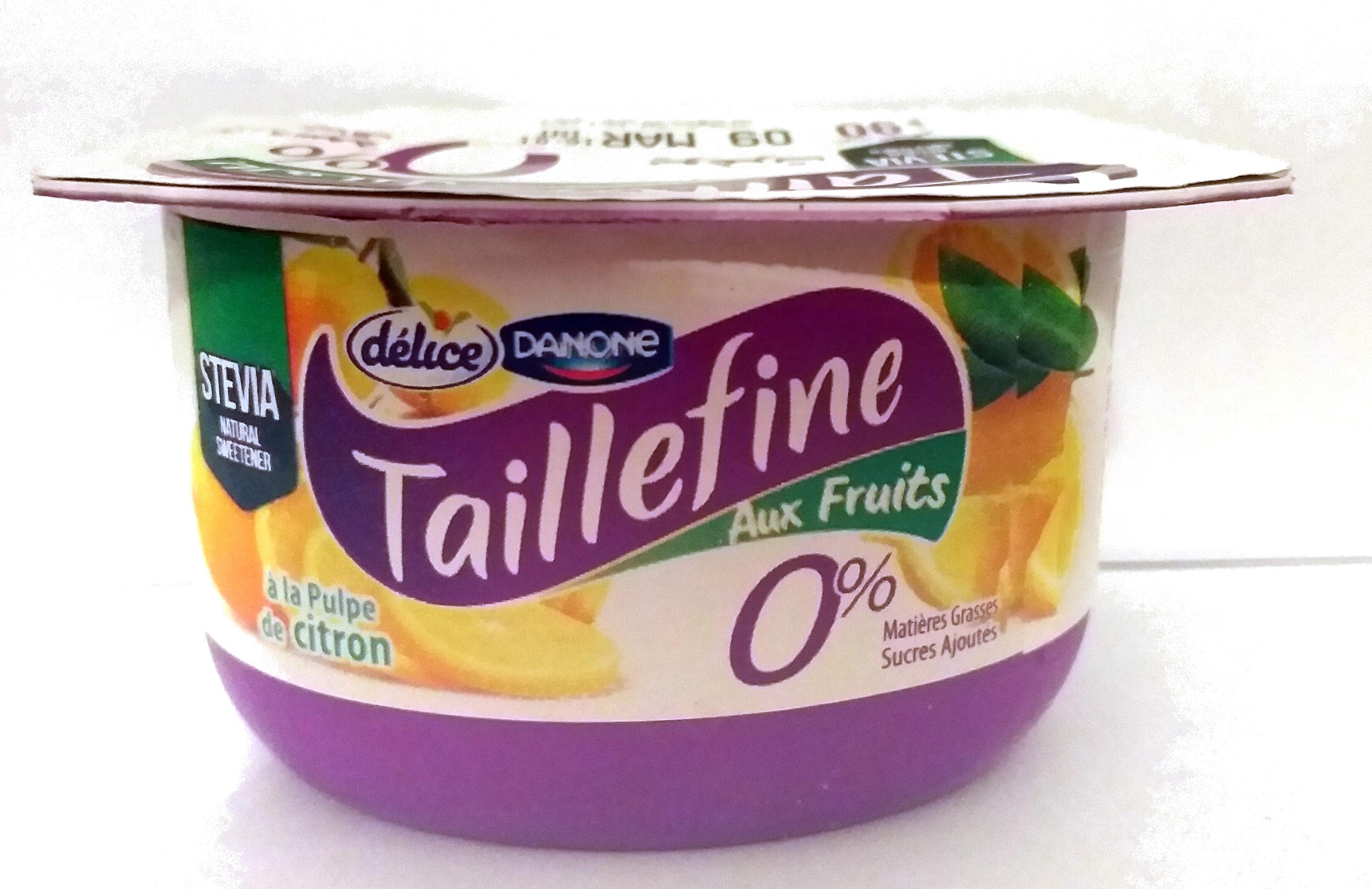 Taillefine aux fruits 0% Citron - Product - fr
