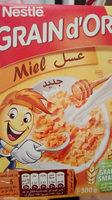 Céréales Grain D'or Miel Nestlé - Product - fr