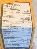 Céréales Grain D'or Miel Nestlé - Nutrition facts - fr