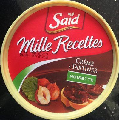 Crème à tartiner Noisette - Produit