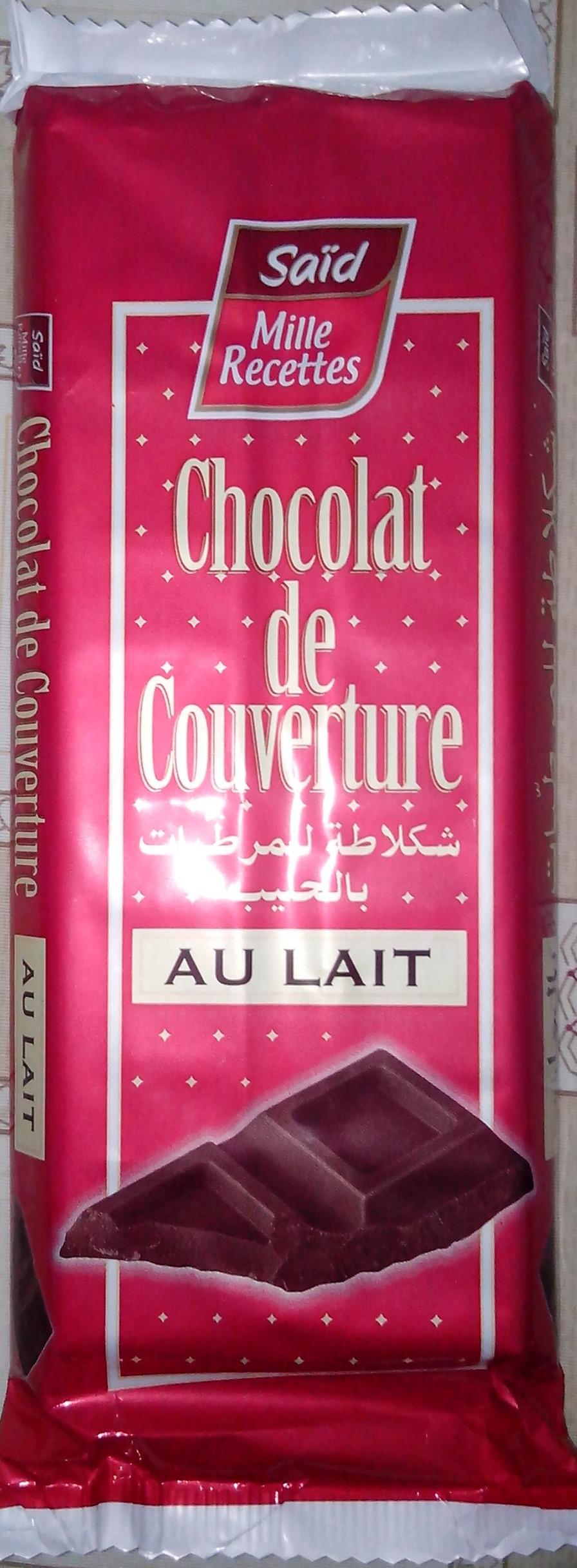 Chocolat de couverture au lait - Produit - fr