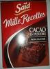 Cacao en poudre - Produit