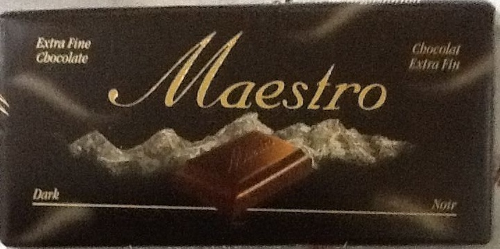 Maestro - Chocolat Extra Fin Noir - نتاج - fr