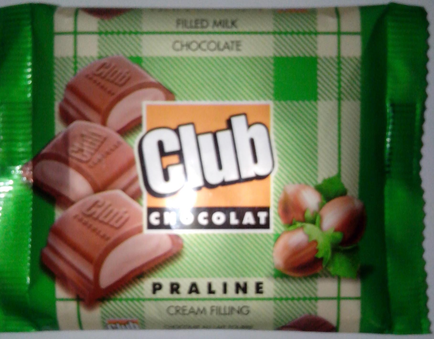 Chocolat Club Praline - Product