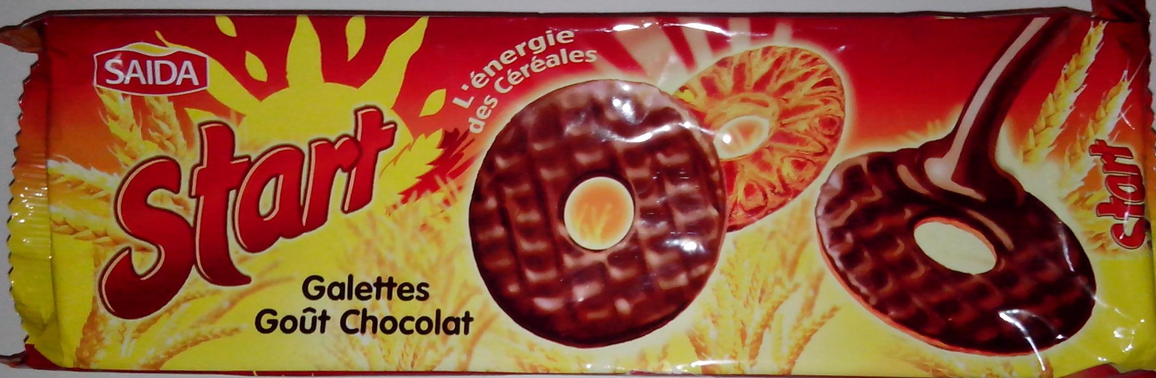 Start - Galettes goût chocolat - Product - fr