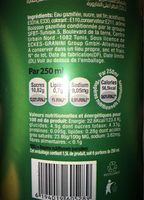 Apla - Nutrition facts