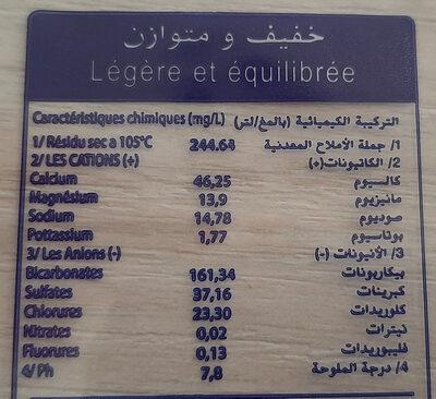 Hayet - حقائق غذائية - fr