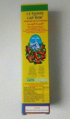 Harissa de la Tunisie - Produit