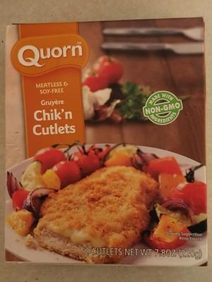 Gruyère Chick'n Cutlets - 1