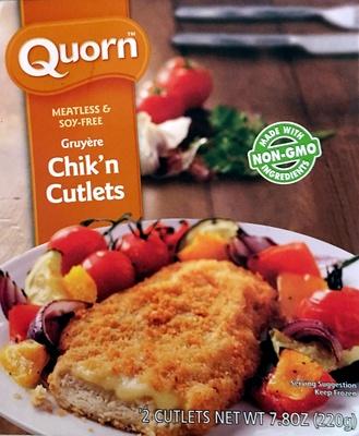 Gruyère Chick'n Cutlets - Product - en