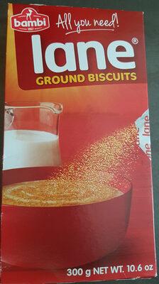 lane ground biscuits - Prodotto - fr