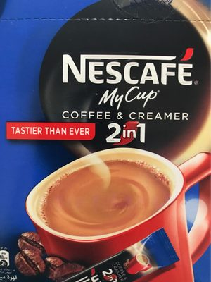 Nescafe My Cup 2in1 Coffee and Creamer In Box - 2