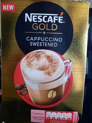 Nescafé GOLD Cappuccino sweetened - Product - fr