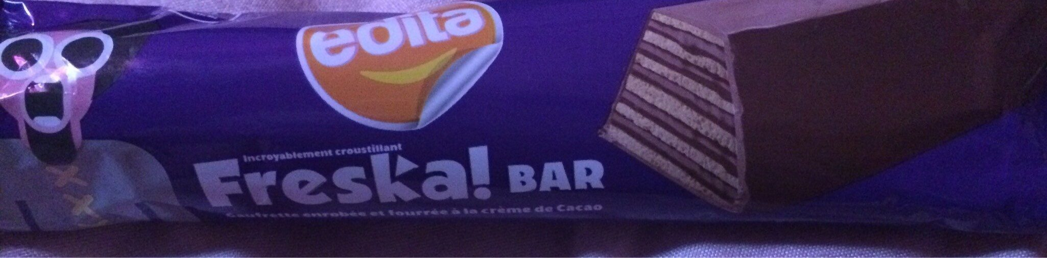 Fresca Waffer Biscuits Covered With Chocolate - Produit - en