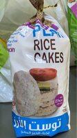Plain rice cakes - Produit - fr